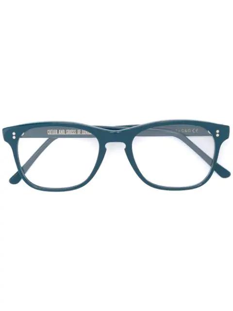 Cutler And Gross Brille Mit Quadratischem Gestell