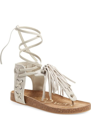 Sam Edelman Kyra Gladiator Sandal Women In Greige