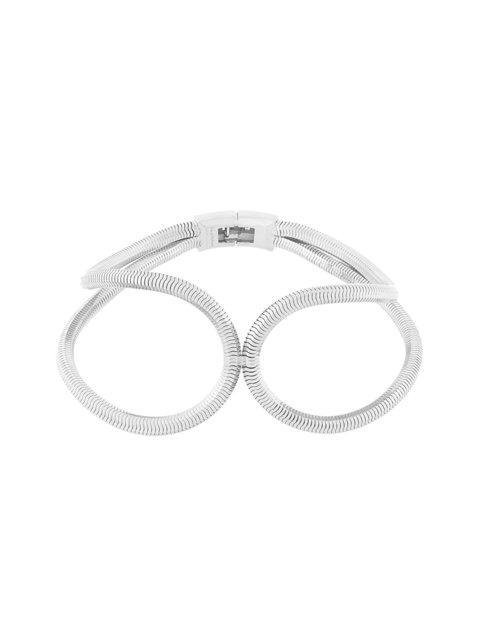 Lara Bohinc Schumacher Loop Necklace In Grey