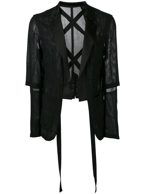 The Soloist Strap-detail Sports Jacket In Black