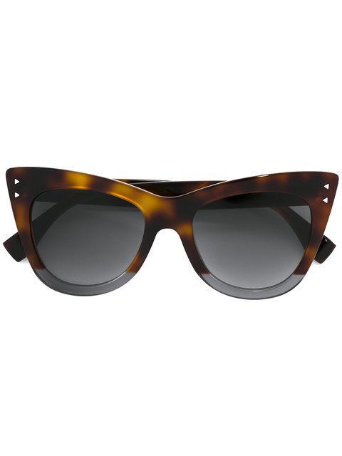 Fendi Eyewear 'orchidea' Sonnenbrille - Braun