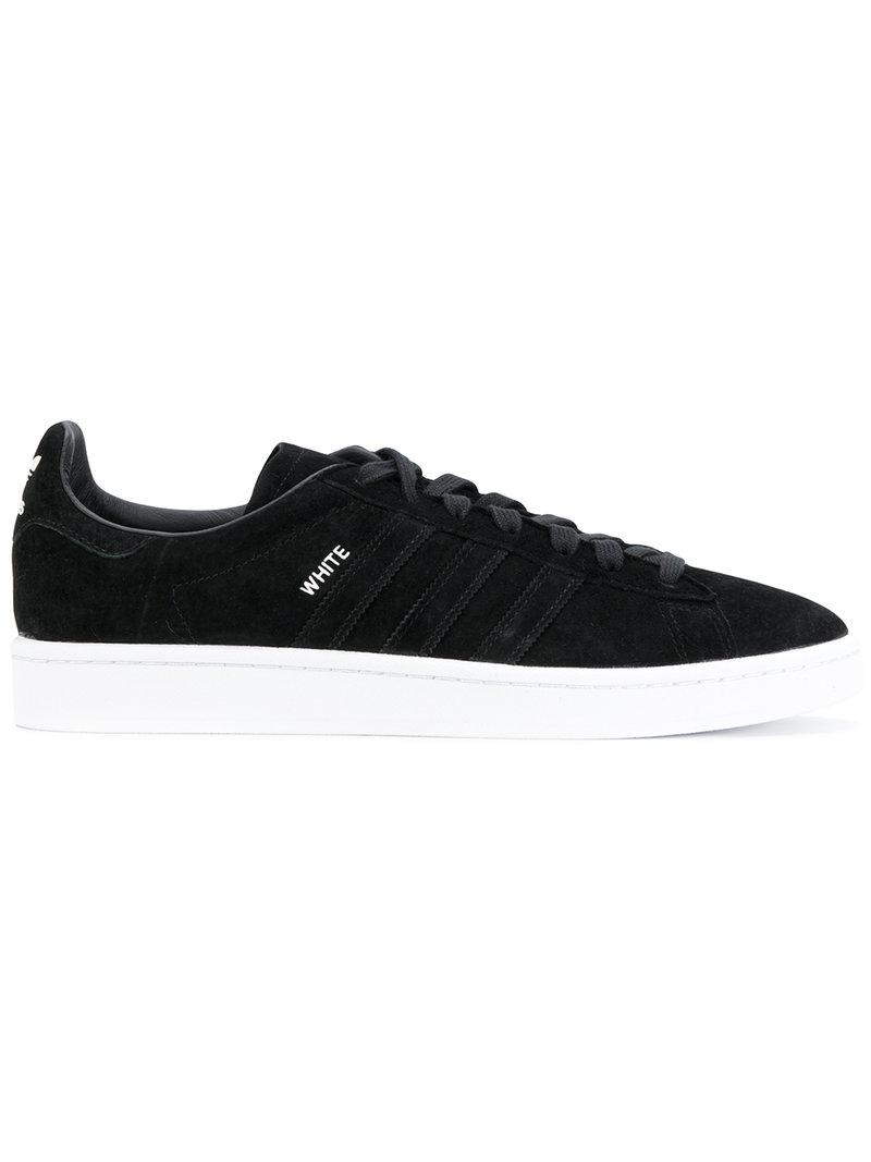 c31085505d44b Adidas X White Mountaineering Adidas By White Mountaineering Black Campus  80S Sneakers