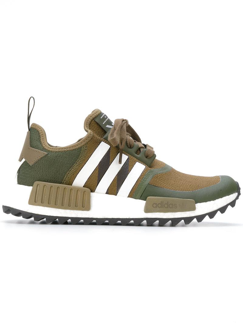 In Nmd Adidas Sneakers Originals Green Mountaineering Trail White R1 X Army hdCtrsQx