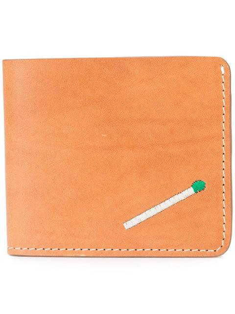 Nick Fouquet Matchstick Wallet - Brown In Beige