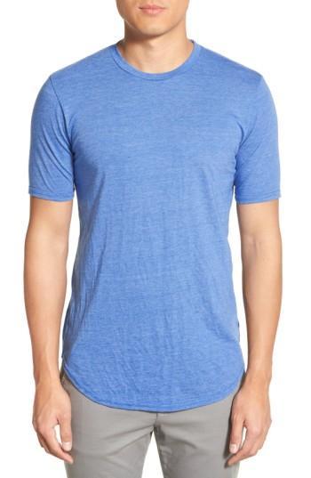 d3010e6ac348a8 Goodlife Scallop Triblend Crewneck T-Shirt In Regatta Blue