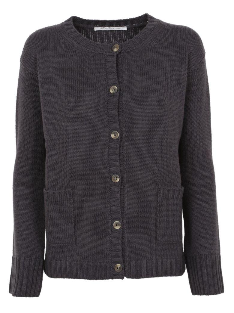 Saverio Palatella Flap Pocket Cardigan In Ombre Chinoise