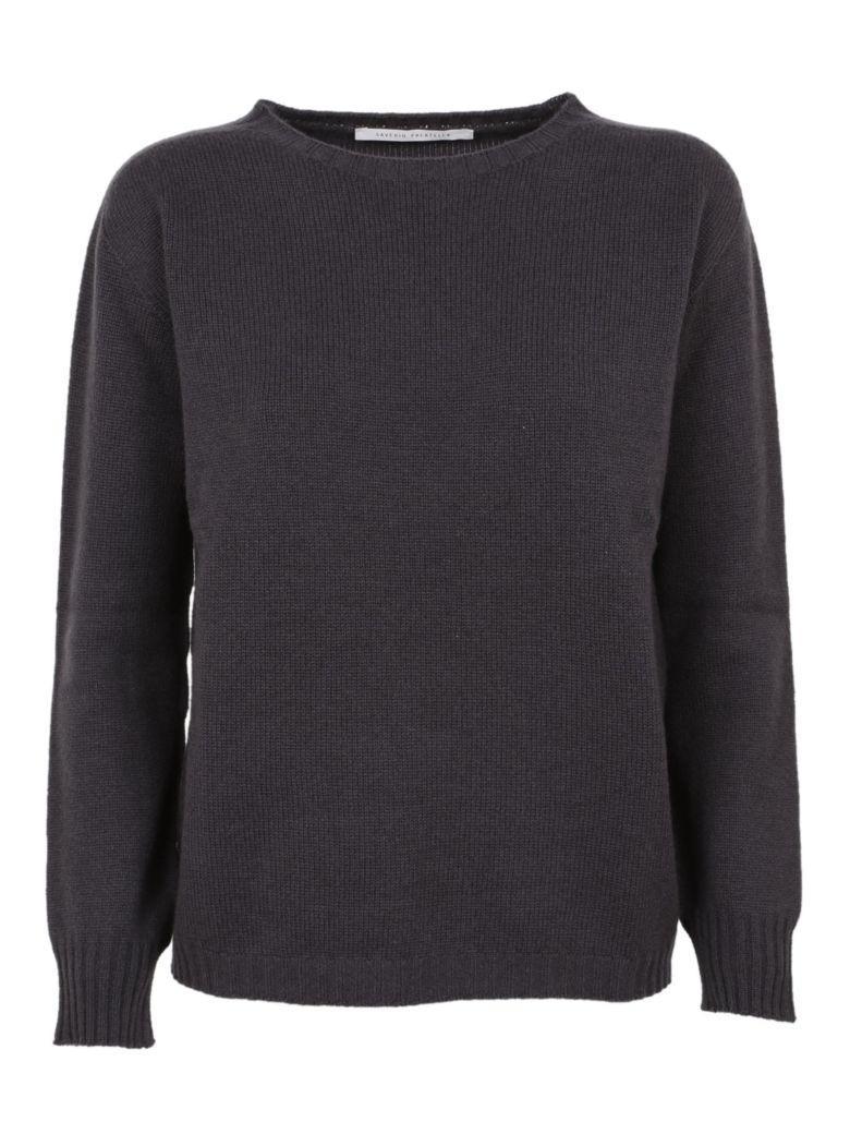 Saverio Palatella Crew Neck Sweater In Ombre Chinoise