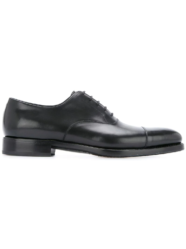 Crockett & Jones Formal Oxford Shoes - Black