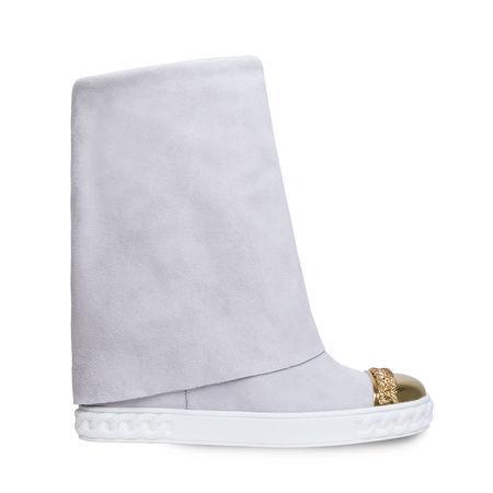Casadei Sneaker In White-Gold