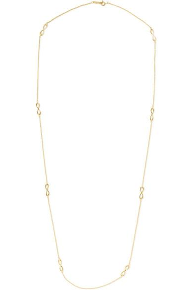 5dc2b5f24 Tiffany & Co Infinity 18-Karat Rose Gold Necklace | ModeSens