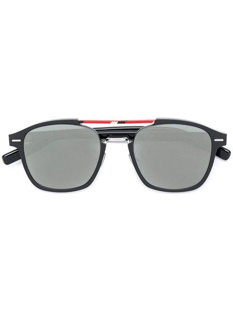8462864aa28c Dior Eyewear Round Framed Sunglasses - Black