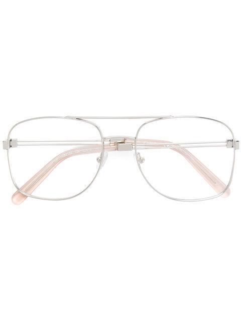 ChloÉ Framed Eye Glasses In Metallic