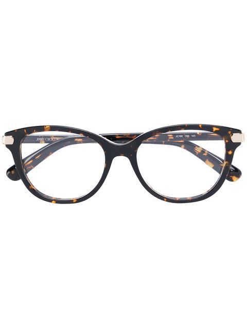 Jimmy Choo Tortoiseshell Glasses