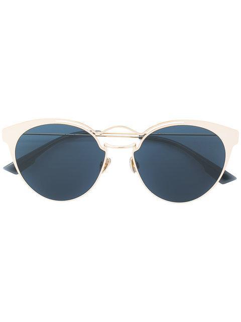 Dior Nebula Sunglasses In Metallic