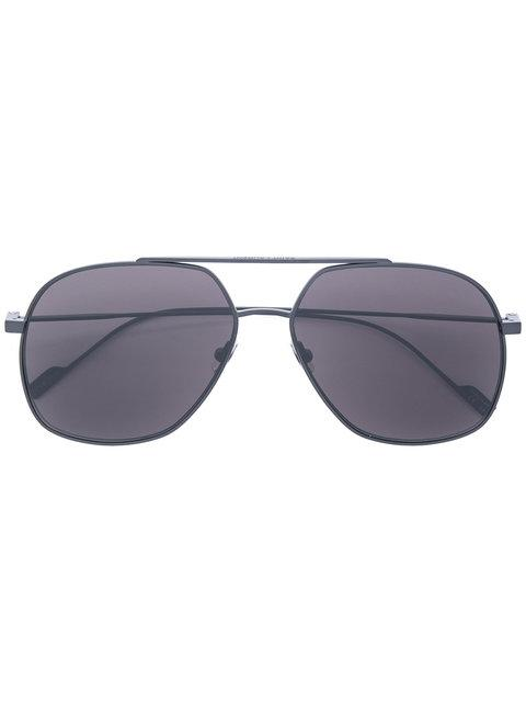 Saint Laurent Classic 11 Aviator Sunglasses In Black