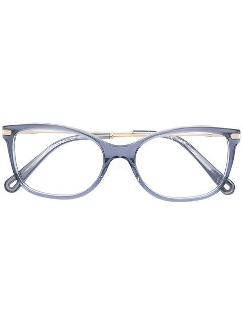 ChloÉ Eyewear Framed Eye Glasses - Grey