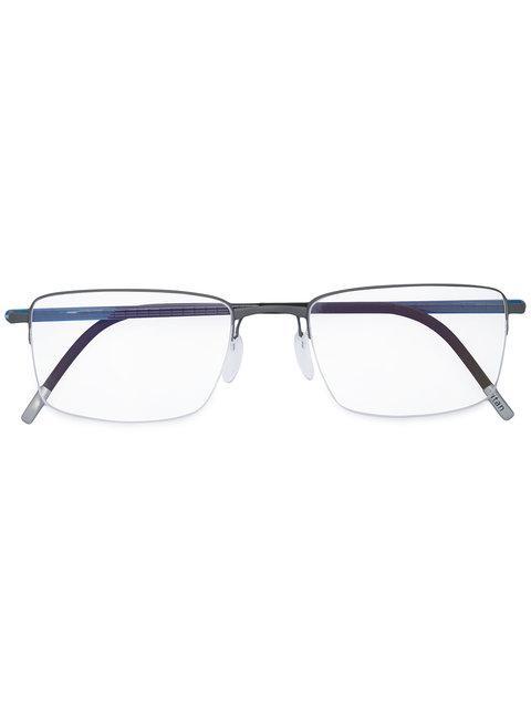 Silhouette Half Frame Glasses