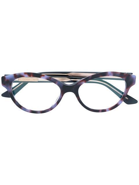 ba19d4af605 Dior Eyewear Montaigne 36 Glasses - Blue