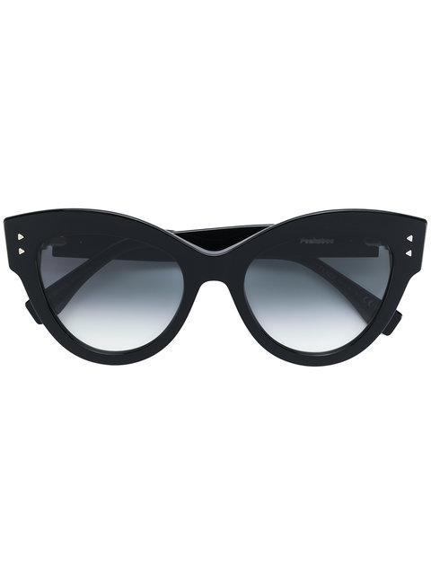 32dec1e731 Fendi Eyewear Peekaboo Sunglasses - Black