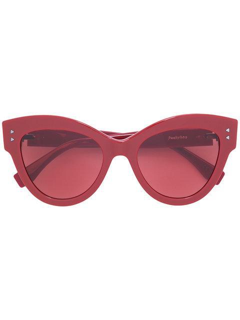 525c9de9ae Fendi Eyewear  Peekaboo  Sonnenbrille - Rot