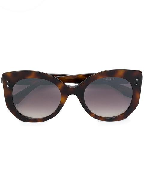 f6098fed56 Fendi Eyewear Peekaboo Sunglasses - Brown