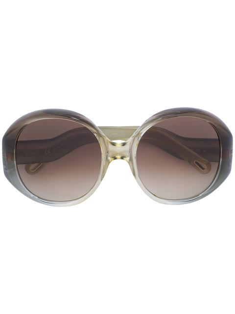 23e98a84561 ChloÉ Eyewear Round Frame Sunglasses - Neutrals In Nude   Neutrals ...