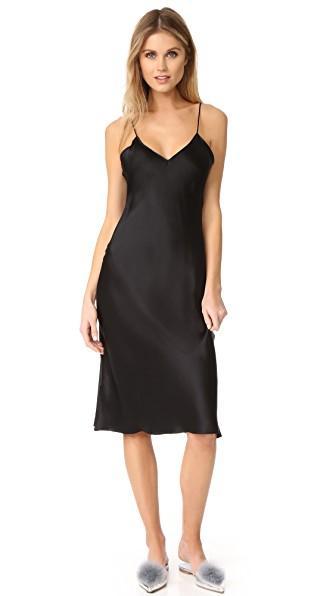 d9d4fb5b84775 Emerson Thorpe Hallie Slip Dress In Black   ModeSens