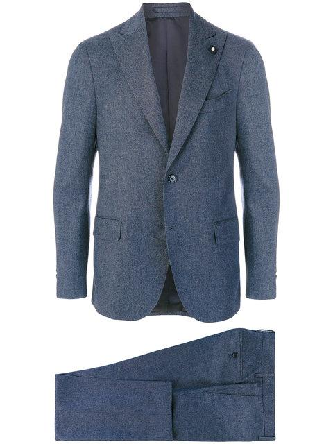 Lardini Formal Suit In Blue