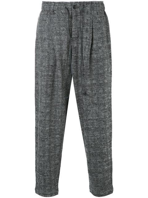 Kazuyuki Kumagai Tapered Drawstring Trousers
