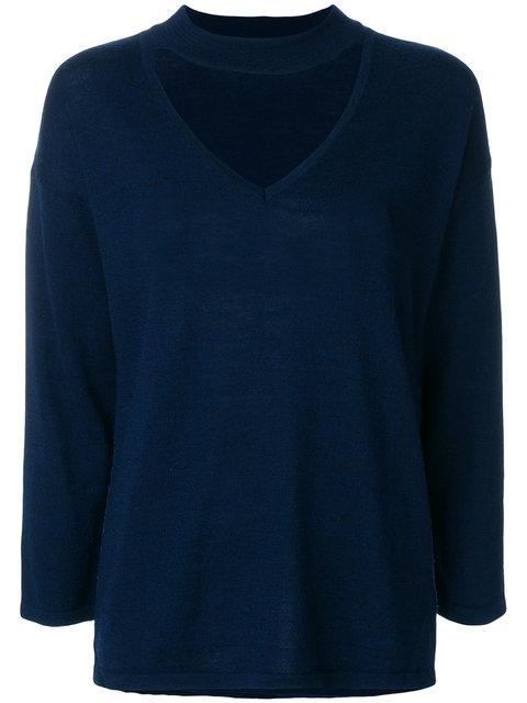 Federica Tosi Open Chest Sweatshirt