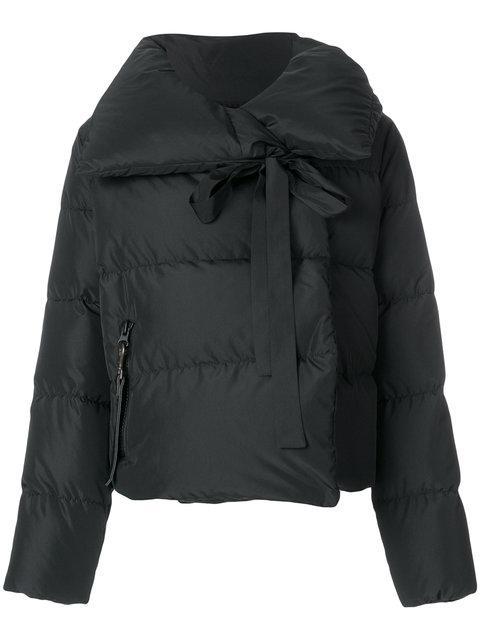 Bacon Oversized Collar Padded Jacket