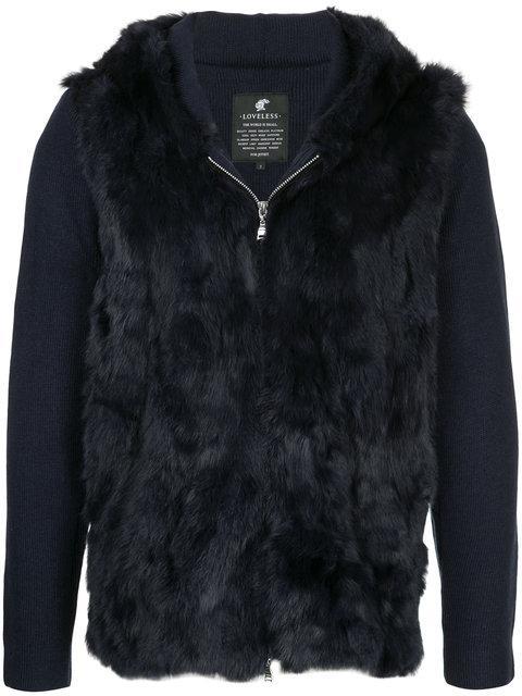 Loveless Furry Detail Jacket