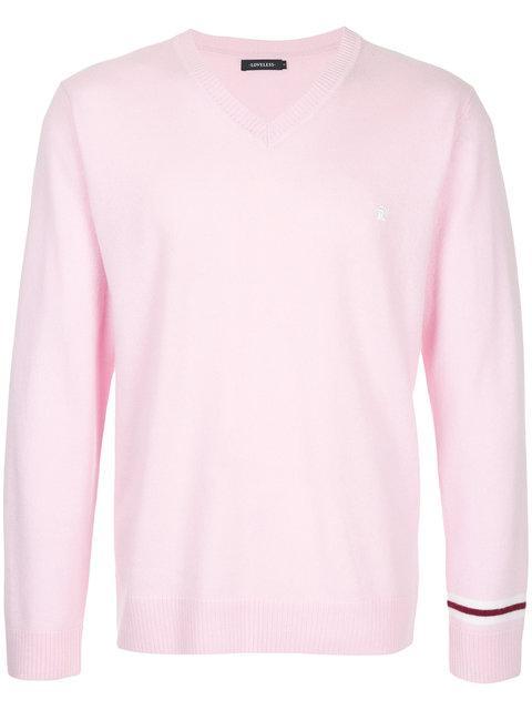 Loveless V Neck Sweatshirt