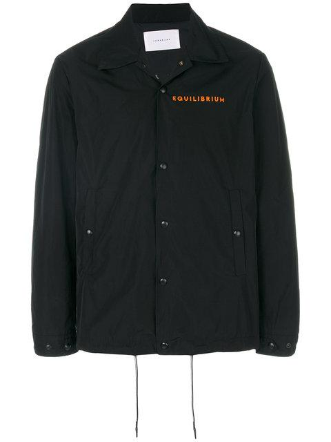 Low Brand Zipped Fitted Jacket