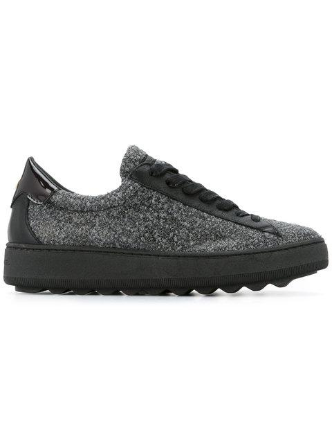 Philippe Model Ridged Lace Up Sneakers