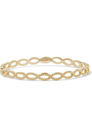 Grace Lee Eternity 14-karat Gold Ring