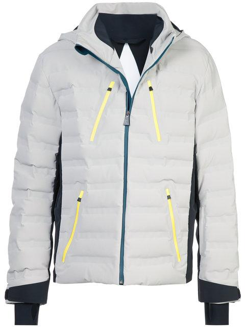 Aztech Mountain 'triangle' Primaloft® Gold Padded Jacket In Grey