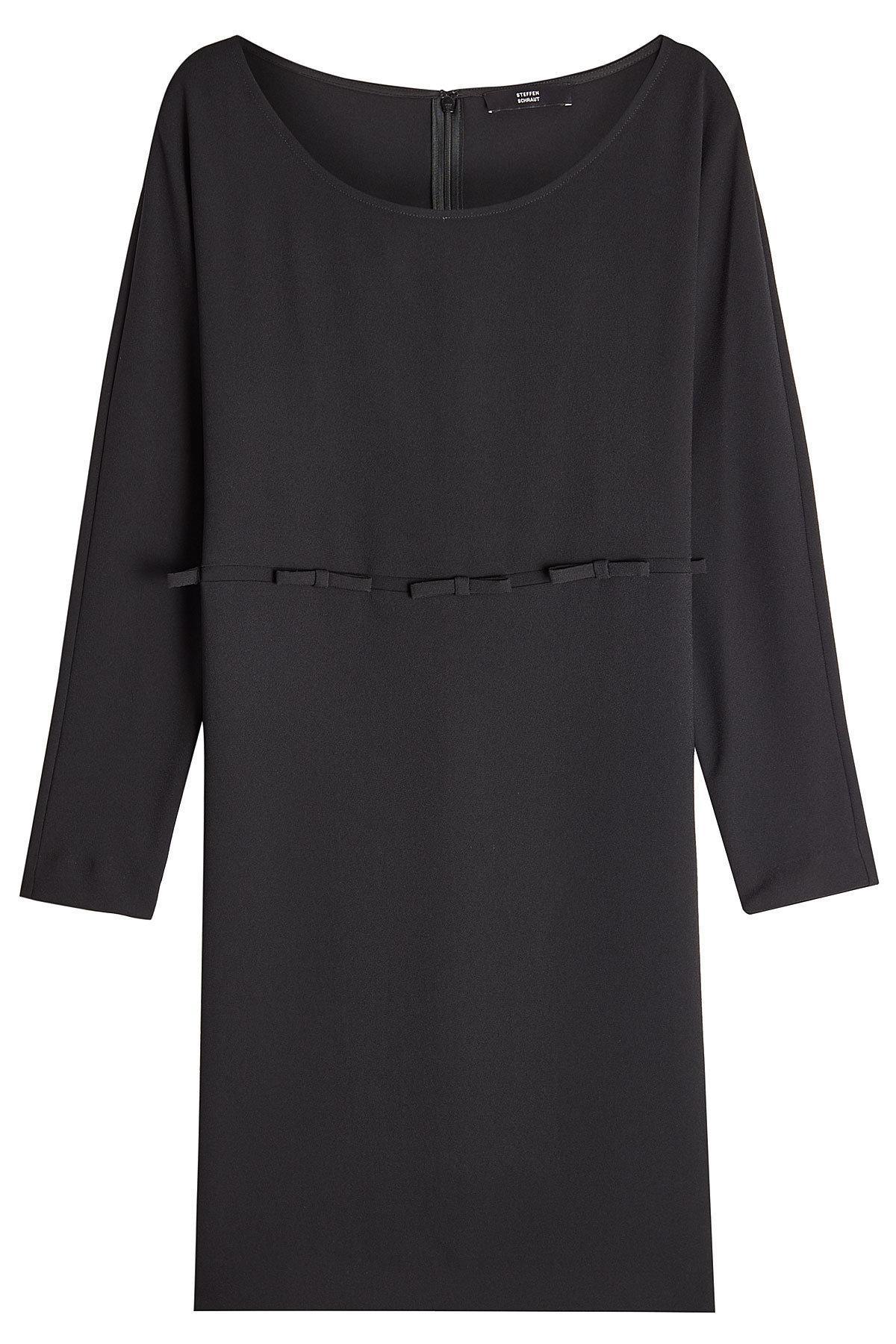 Steffen Schraut Dress With Bows In Black