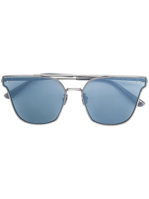 Bottega Veneta Eyewear Cat-eye Sunglasses - Metallic