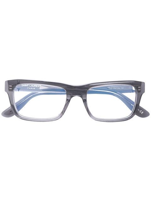 Saint Laurent Slm22 004 Glasses In Grey