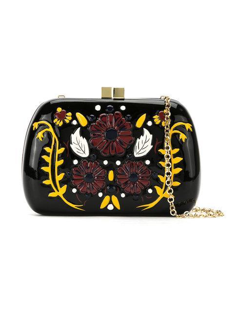 Serpui 'lolita' Clutch Bag - Black