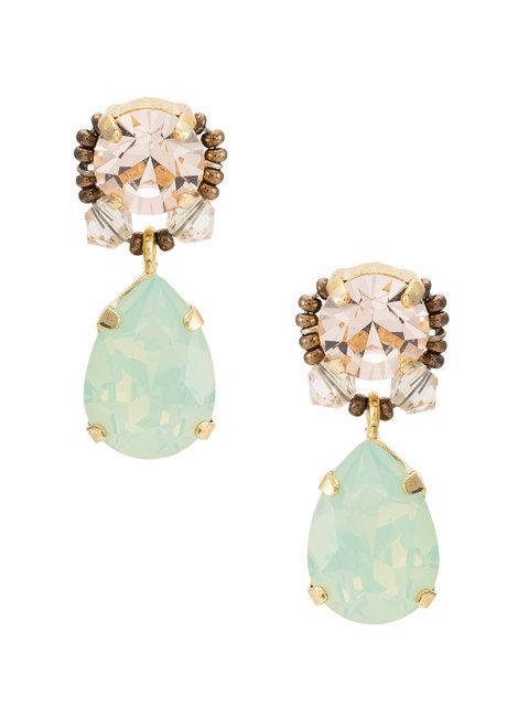 Serpui Swarovski Crystal Earrings