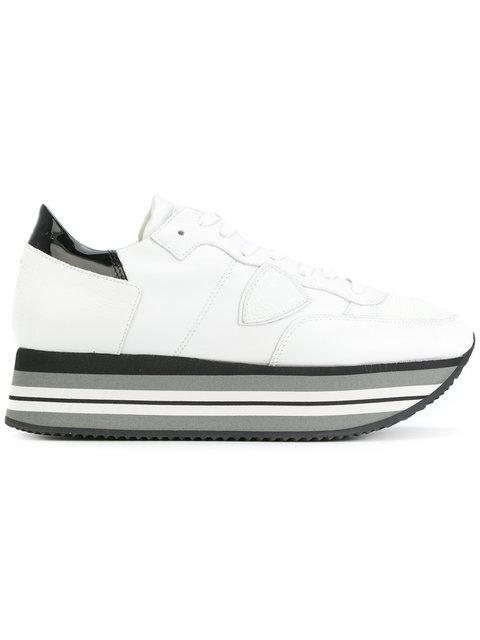 Philippe Model Eiffel Sneakers In White