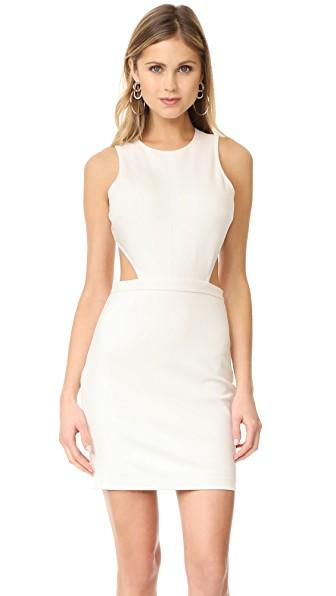 Ali & Jay Poolside Dance Moves Dress In White