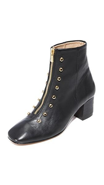 An Hour And A Shower Gig Booties In Black