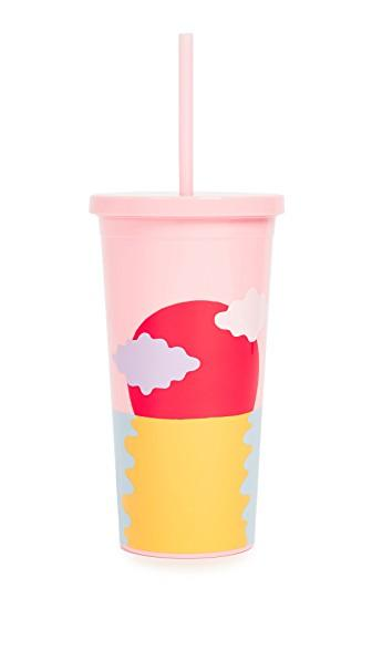 Ban.do Happy Hour Tumbler In Pink
