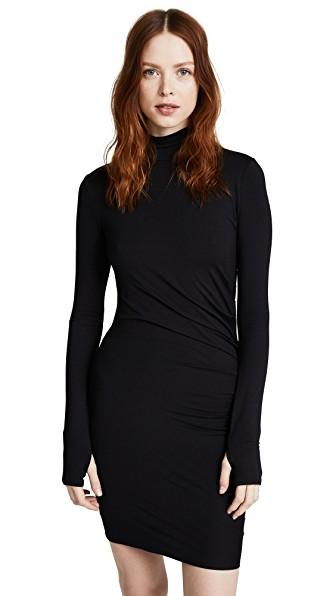 Twenty Tees Stanley Dress In Black