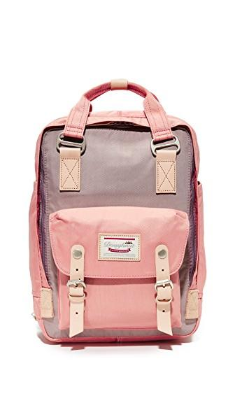 Doughnut Macaroon Backpack In Lavender/rose