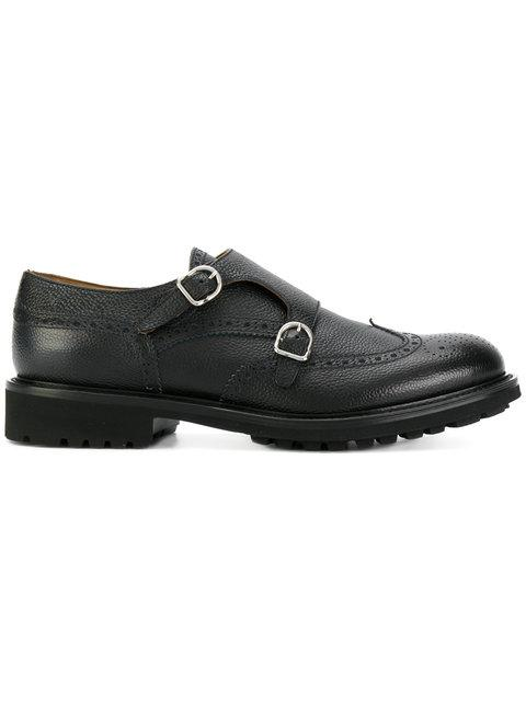 Doucal's Monk Strap Shoes