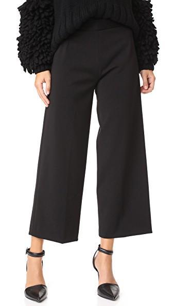 Amelia Toro Cropped Pants In Black